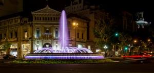 Fountain Passeig de Gràcia, Barcelona, Spain; Credit:  Andrew Moore