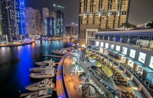 Dubai Marina Credit: Matt Harvey