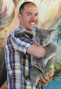 Hank and Kayla the Koala at Cairns Tropical Zoo (2012)