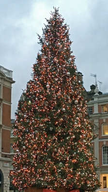 Covant Garden Xmas Tree